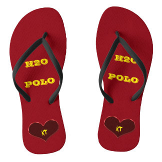 Water Polo Feet Edit Initials Thongs