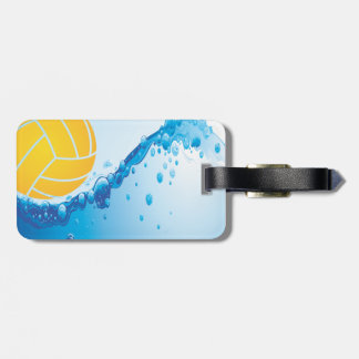 Water Polo Luggage Tag