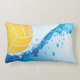 Water Polo Lumbar Throw Pillow
