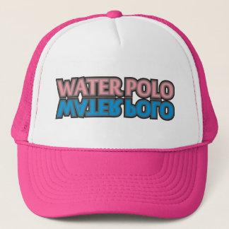 water polo pink trucker hat