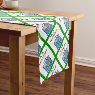 water polo short table runner