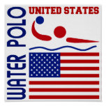 Water Polo United States Print