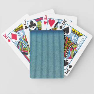 Water - Pool Bottom Bicycle Playing Cards