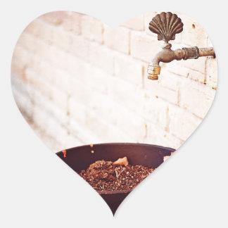 Water Pot Heart Sticker