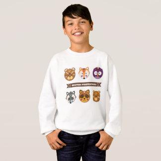 Water Protectors -- Kids Cute 1 Sweatshirt