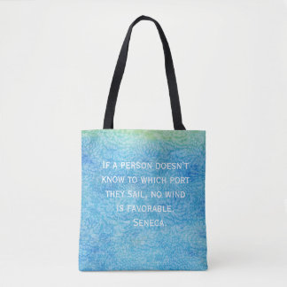 Water quote tote