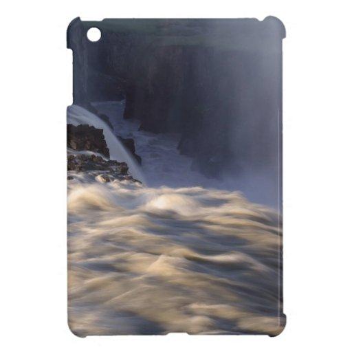 Water Rainbow Rapid Falls iPad Mini Cover