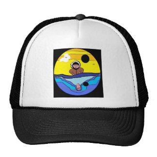 Water Reflection Ak Man Trucker Hat