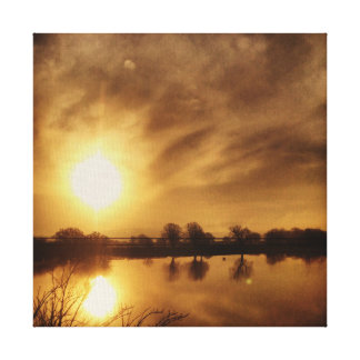 Water Reflection. Canvas Prints