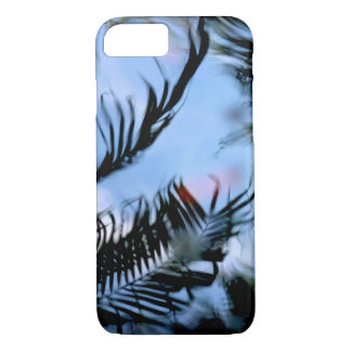 Water Reflection of a Palm Tree iPhone 7 Case