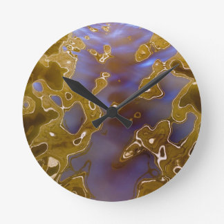 Water reflection surreal wall clocks