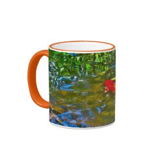 Water Reflections and the Koi Fish Mug