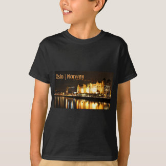 Water reflections in Oslo, Norway T-Shirt