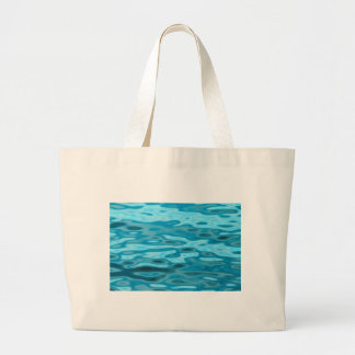 Water Reflections Large Tote Bag