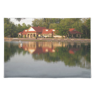 Water reflections place mats