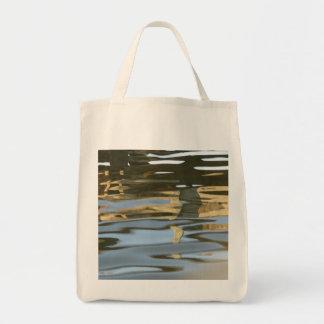 Water ripple abstract bag