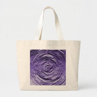 Water Ripple Purple Bags