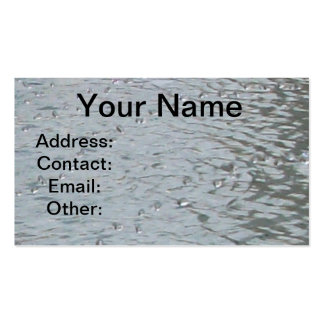 Water Ripples Business Cards