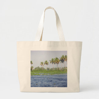 Water rippling in the coastal lagoon tote bags
