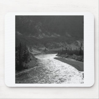 Water River Shines Under Valley Mouse Pad