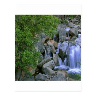 Water Rocky River Falls Postcard