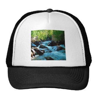 Water Rocky River Rapids Mesh Hat
