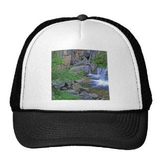 Water Rocky Wilderness Flows Hat