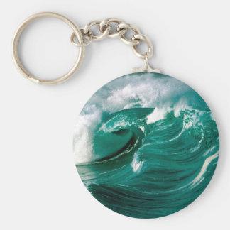 Water Rough Seas Ahead Key Chains
