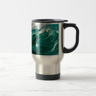 Water Rough Seas Ahead Coffee Mugs