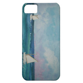 Water Scene with Boats iPhone 5 Cover
