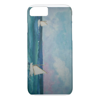 Water Scene with Boats iPhone 7 Case