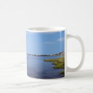 Water Scene - Wooden Post Markers Coffee Mugs