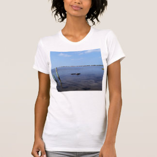 Water Scene - Wooden Post Markers T Shirt