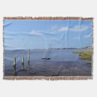 Water Scene - Wooden Post Markers