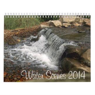 Water Scenes 2014 Calendar