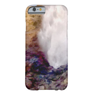 Water shower due to waves barely there iPhone 6 case