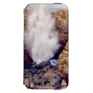 Water shower due to waves incipio watson™ iPhone 6 wallet case