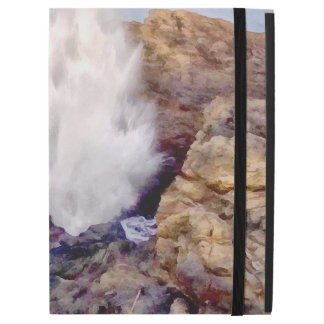 """Water shower due to waves iPad pro 12.9"""" case"""
