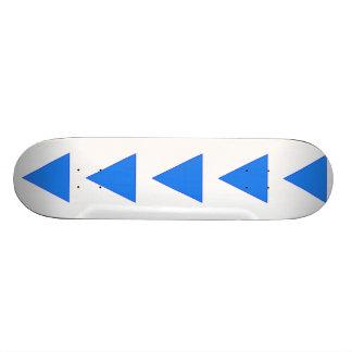 Water 21.6 Cm Skateboard Deck