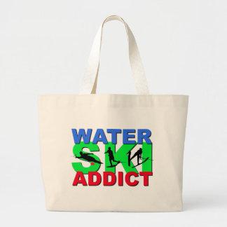 Water Ski Addict Jumbo Tote Bag