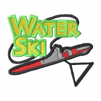 Water-ski Logo Hoodies