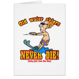 Water Skiers Card