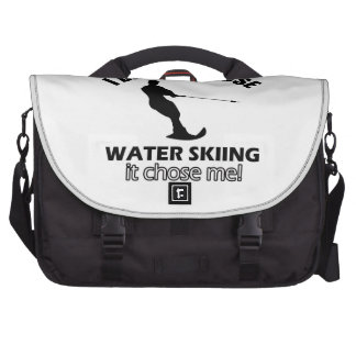 water skiing designs bags for laptop