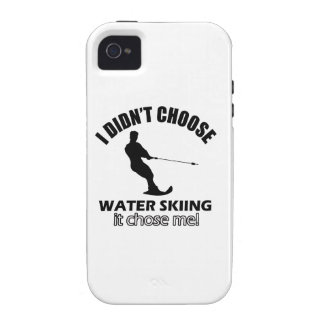 water skiing designs iPhone 4/4S covers