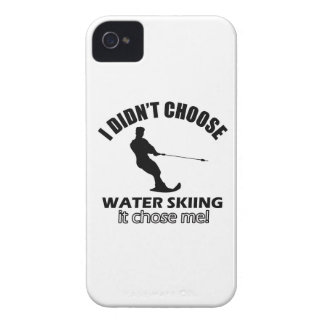 water skiing designs iPhone 4 cover