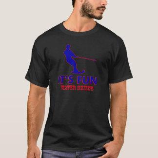 water skiing designs T-Shirt