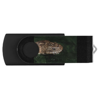 Water snake with reflection swivel USB 2.0 flash drive
