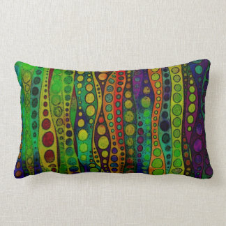 Water Space Original Art Lumbar Cushion