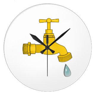 Water Spigot Clock