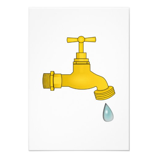 Water Spigot Personalized Announcements